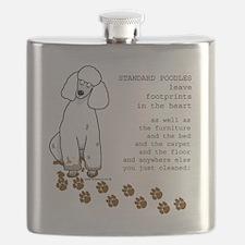 footprints-poodle standard copy.gif Flask