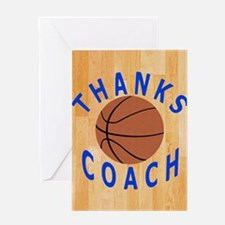Thank You Basketball Coach Gift iPad Greeting Card