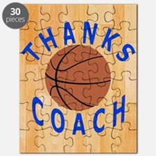 Thank You Basketball Coach Gift iPad Case Puzzle