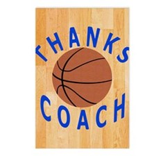 Thank You Basketball Coac Postcards (Package of 8)