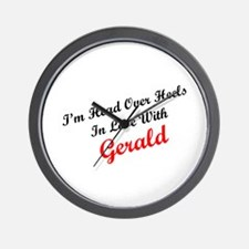 In Love with Gerald Wall Clock