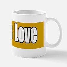 God-is-Love-Bumper-Sticker Mug