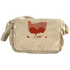 Oregon-love-W Messenger Bag