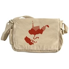 West-VA-love-W Messenger Bag