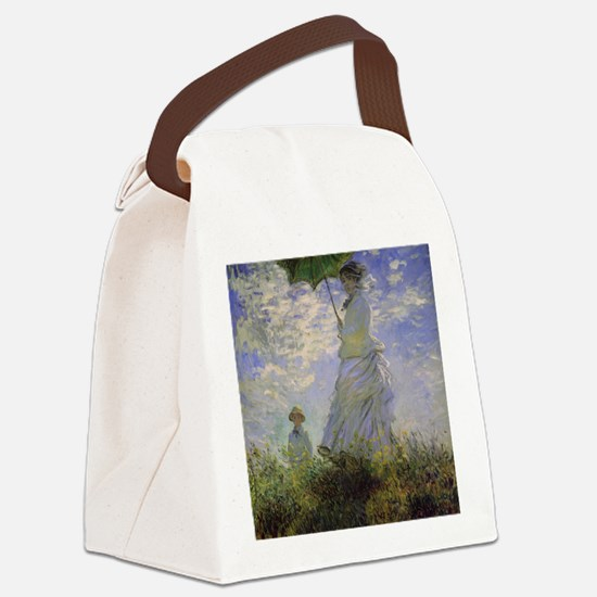 monet 2 Canvas Lunch Bag