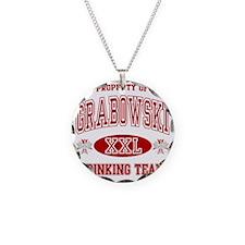 Grabowski Polish Drinking Te Necklace
