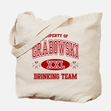 Grabowski Polish Drinking Team Tote Bag