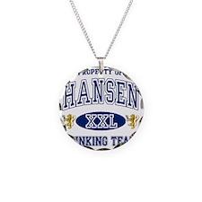 Hansen Norwegian Drinking Te Necklace