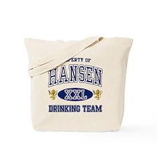 Hansen Norwegian Drinking Team Tote Bag