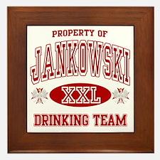 Jankowski Polish Drinking Team Framed Tile