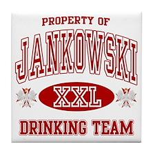 Jankowski Polish Drinking Team Tile Coaster