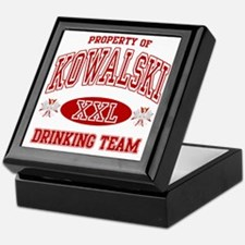 Kowalski Polish Drinking Team Keepsake Box