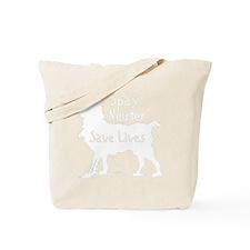 blacksavelivesdog Tote Bag