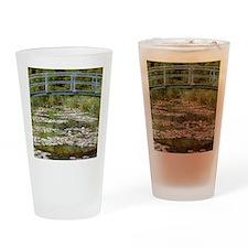 monet bridges 2 Drinking Glass