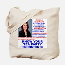 Michele-Bachmann-Tea-Party-small Tote Bag