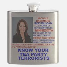 Michele-Bachmann-Tea-Party-small Flask