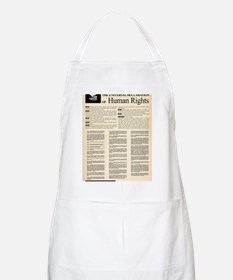 ISHR Human Rights Poster Apron