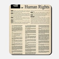 ISHR Human Rights Poster Mousepad