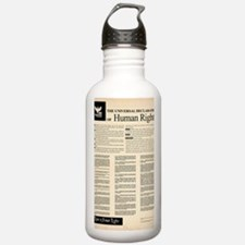 ISHR Human Rights Post Water Bottle