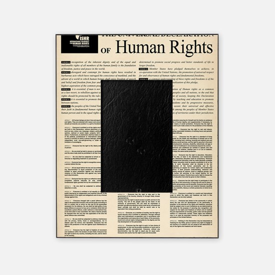 ISHR Human Rights Poster Picture Frame