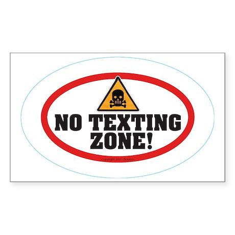 OTG 7 No text zone Sticker (Rectangle)