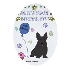 ScottishTerrier Oval Ornament