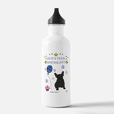 FrenchBulldogBlack Water Bottle