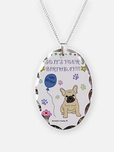 FrenchBulldogFawn Necklace