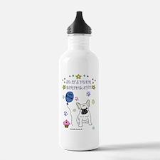 FrenchBulldogWhite Water Bottle