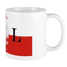 Poland Polska License Plate Mug