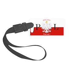 Poland Polska License Plate Luggage Tag