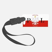 Poland Polska License Plate Luggage Tag
