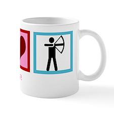 peacelovearcherywh Mug