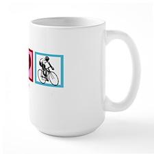 peacelovecyclingwh Mug