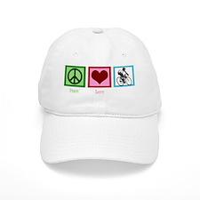 peacelovecyclingwh Baseball Cap
