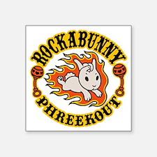"""rockabunny-T Square Sticker 3"""" x 3"""""""