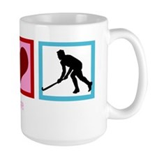 peacelovefieldhockeywh Mug