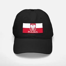 Polska Flag White Eagle LP Baseball Hat