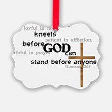 kneel Ornament