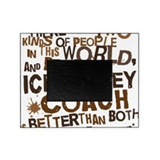 icehockeycoachbrown Picture Frame