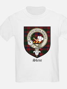 Skene Clan Crest Tartan Kids T-Shirt