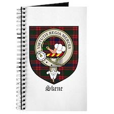Skene Clan Crest Tartan Journal
