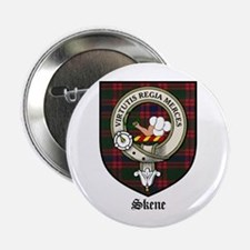 "Skene Clan Crest Tartan 2.25"" Button (10 pack)"