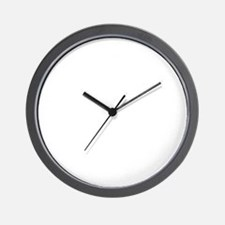 latinteacherwhite Wall Clock