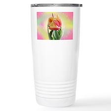 Peace Tulips Travel Coffee Mug