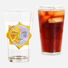 iredscentSUNmoon Drinking Glass