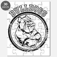 Bulldog Team Mascot Puzzle