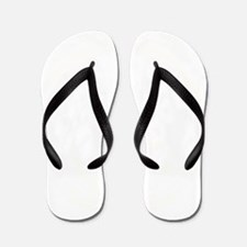 Bull Sports Team Mascot Graphic Flip Flops