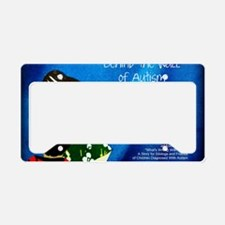 Autism awareness parents License Plate Holder