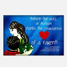 Autism awareness parents Postcards (Package of 8)